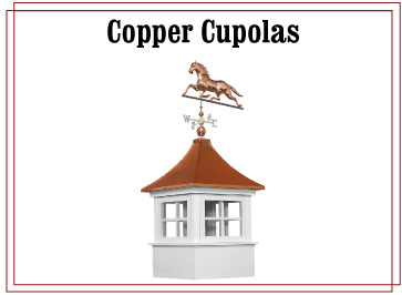 Copper Cupolas