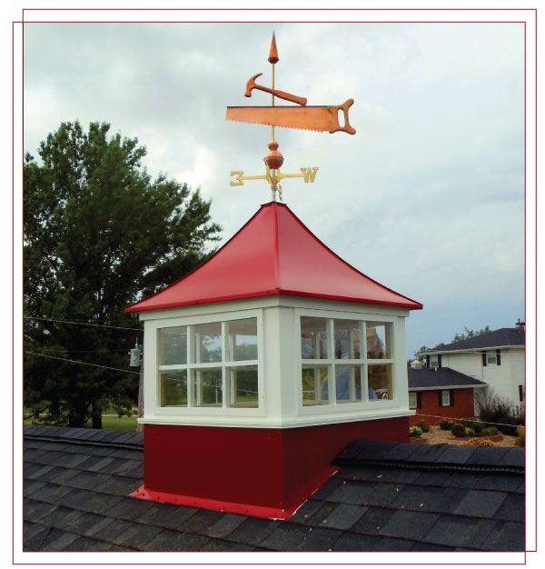 Wind Rated Cupola
