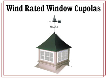 Wind Rated Cupola Windows